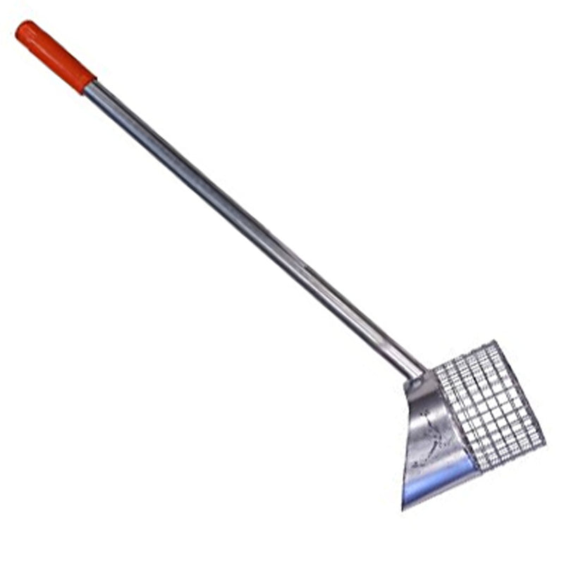 "RTG Galvanized Privateer 5"" Quick Drain Sand Scoop #SS-755"