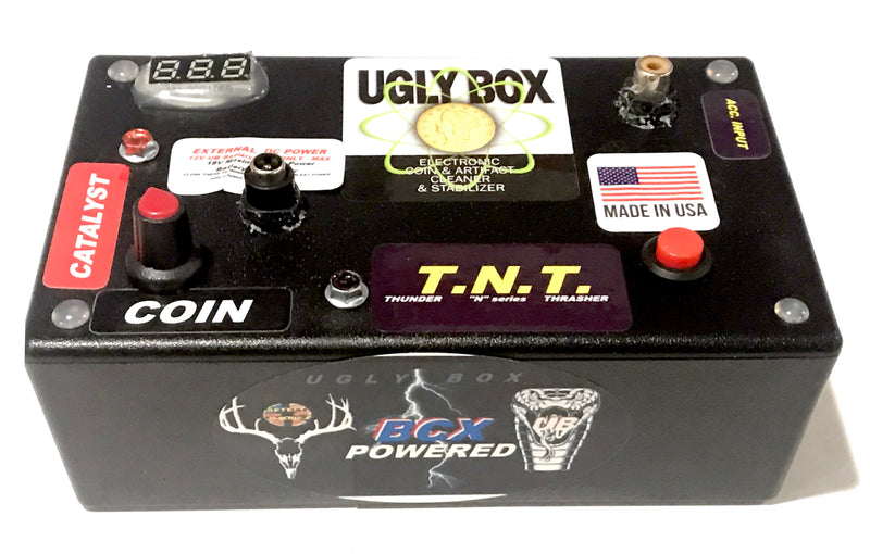 Ugly Box Electrolysis Unit - coin and relic cleaner + stabilizer * New & Improved