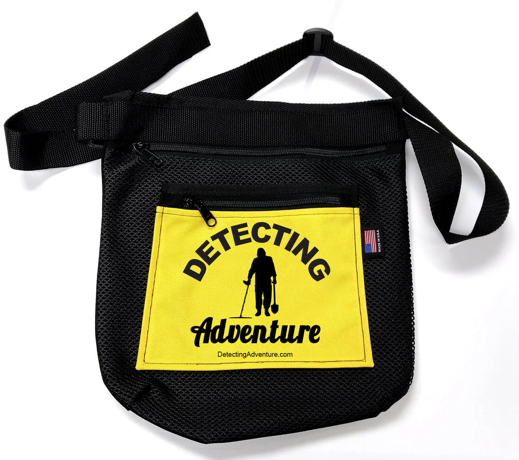 Detecting Adventures Beach Pouch w/Zippers