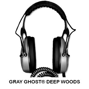 DetectorPro Gray Ghost Deep Woods Headphones