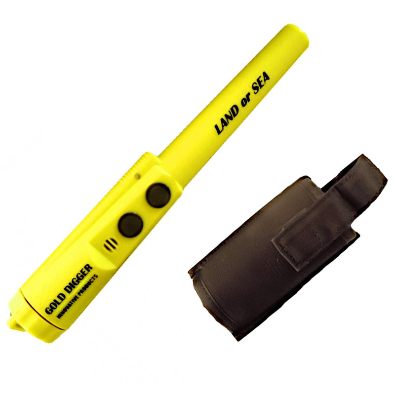 GDIP Land or Sea Pulse Induction Waterproof Pinpointer w/ Signal LED