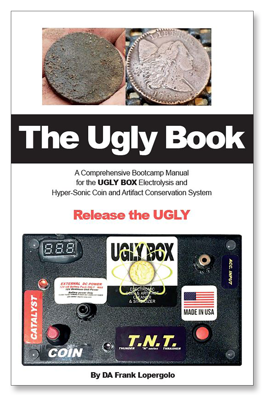 The Ugly Book by DA Frank Lopergolo  (NOW SHIPPING)
