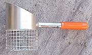"RTG Galvanized Moose 5"" Sand Scoop #SS-Moose"