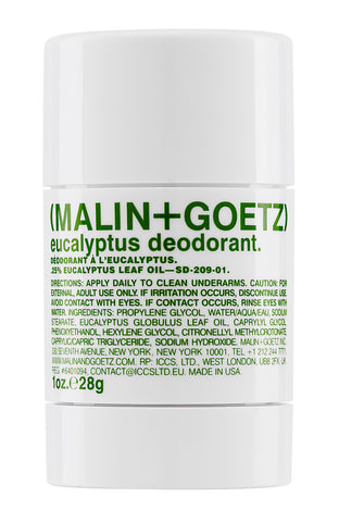 Malin + Goetz travel sized deodorant