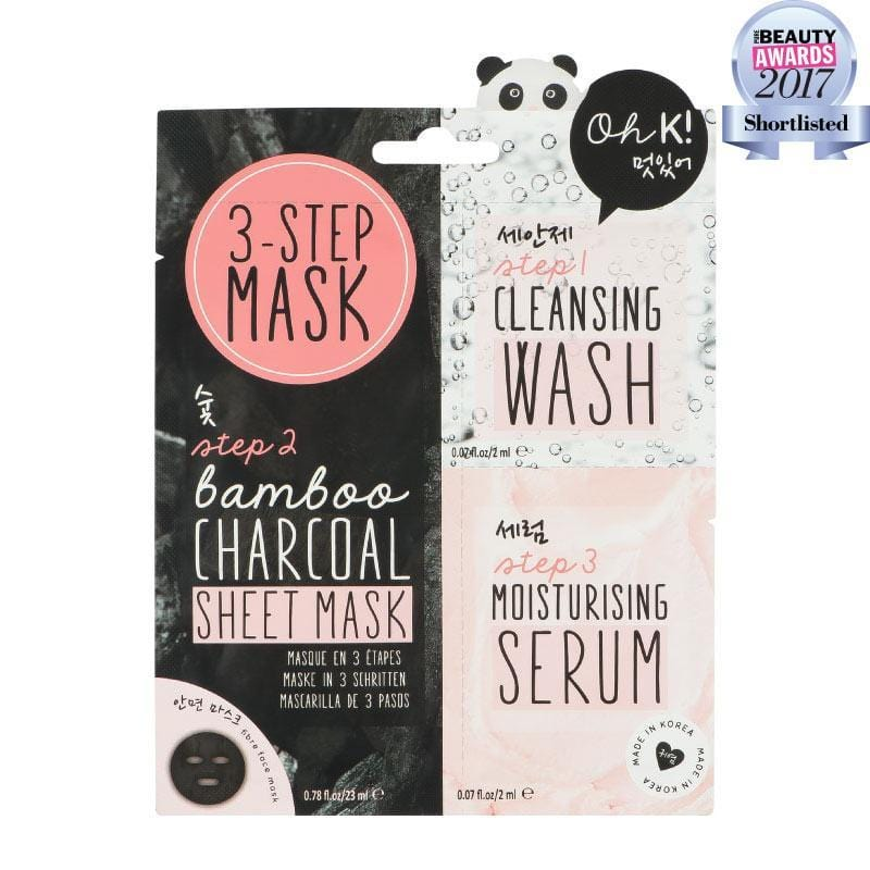 Oh K! | 3 Step Sheet Face Mask | A Little Find