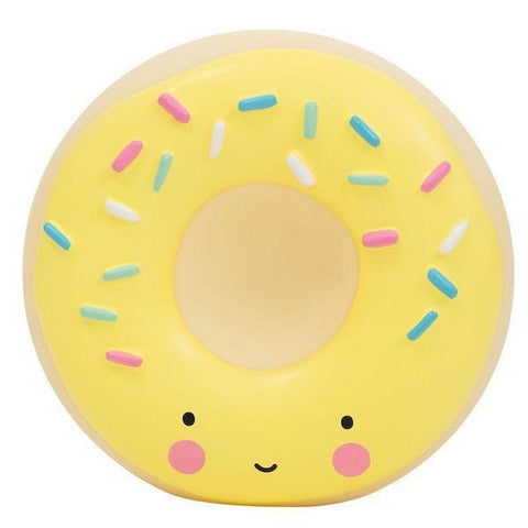A Little Lovely Company | Donut Money Box - Yellow | A Little Find