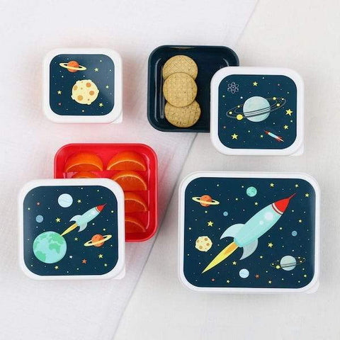 A Little Lovely Company | Space Lunch & Snack Box Set | A LITTLE FIND