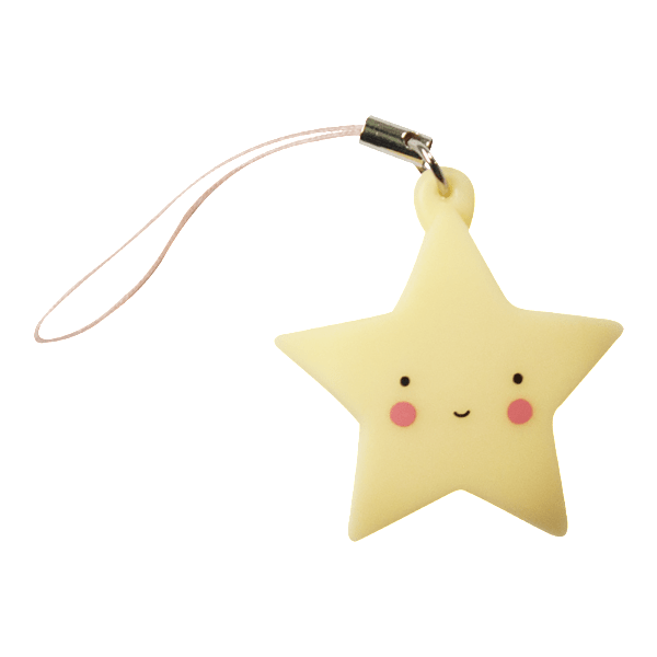 A Little Lovely Company | Little Charm - Star - Yellow | A Little Find