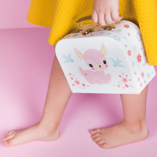 A Little Lovely Company | Little Suitcase - Deer | A Little Find