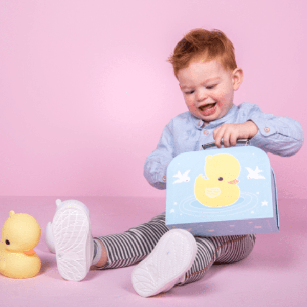 A Little Lovely Company | Little Suitcase - Duck | A Little Find