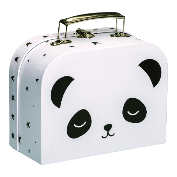 A Little Lovely Company | Little Suitcase - Panda | A Little Find