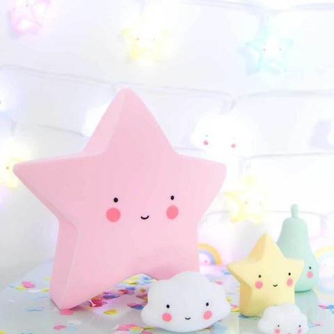 A Little Lovely Company | Little Star Light - Pink | A Little Find