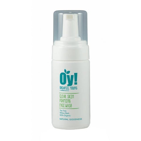 Oy! Green People | Oy! - Organic Foaming Clear Skin Face Wash - 100Ml | A Little Find