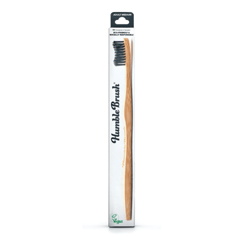 The Humble Co. | Adult Humble Brush - Medium - Black | A Little Find