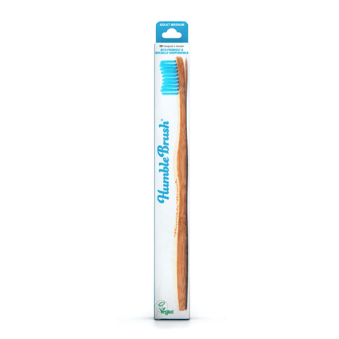 The Humble Co. | Adult Humble Brush - Medium - Blue| A Little Find