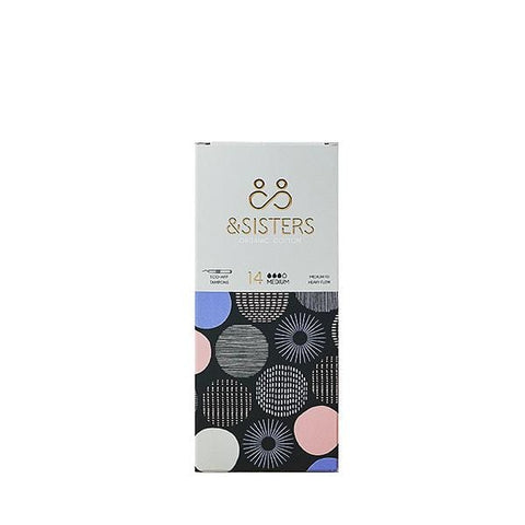 &Sisters | Medium Eco-Applicator Organic Cotton Tampons| A Little Find