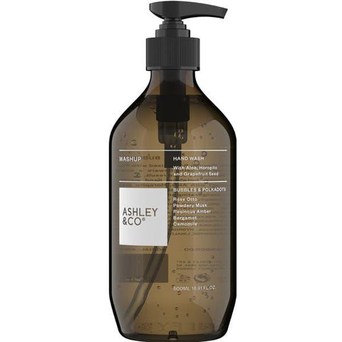 Ashley & Co | Hand Wash - Bubbles & Polkadots - 500ml | A Little Find