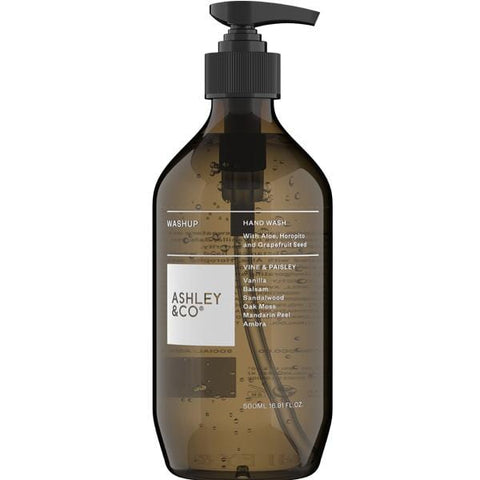 Ashley & Co | Hand Wash - Vine & Paisley - 500ml | A Little Find