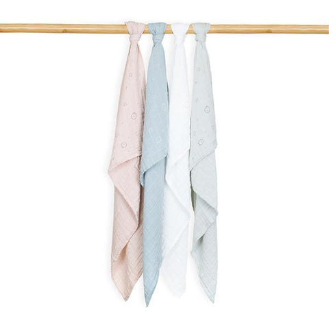 Mori | Muslin Swaddle - Blush - Large | A Little Find