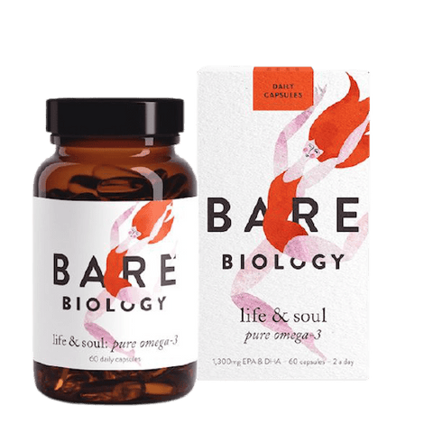 Bare Biology | Life & Soul Omega 3 Daily Capsules | A Little Find