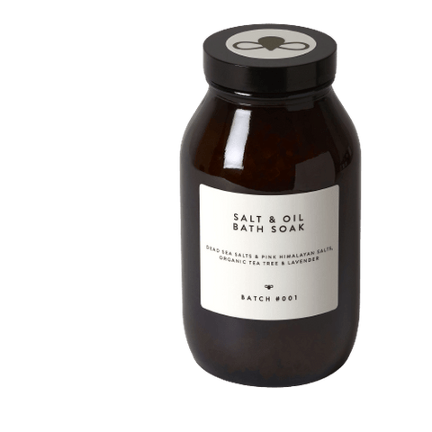 Batch 001 | Bath Soak - Tea Tree & Lavender - 560g | A Little Find