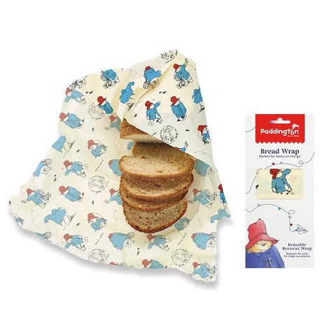 Bee's Wrap | Bread Wrap - Paddington Print | A LITTLE FIND