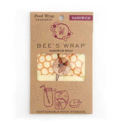 Bee's Wrap | Sandwich Wrap - Honeycomb Print | A LITTLE FIND