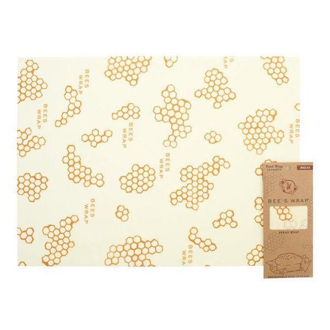 Bee's Wrap | Bread Wrap - Honeycomb Print | A LITTLE FIND