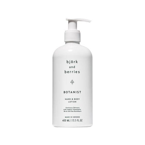 Bjork & Berries | Botanist Hand & Body Lotion - 400ml | A Little Find
