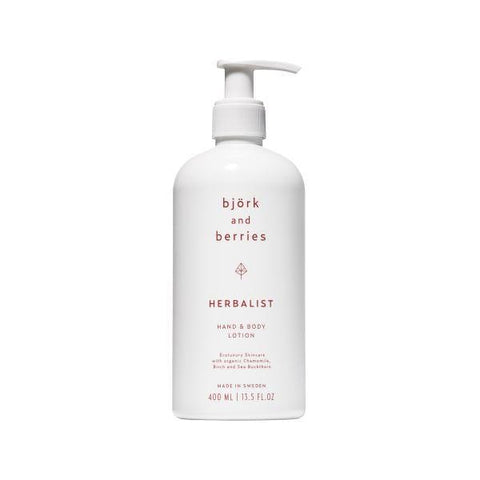 Bjork & Berries | Herbalist Hand & Body Lotion- 400ml | A Little Find