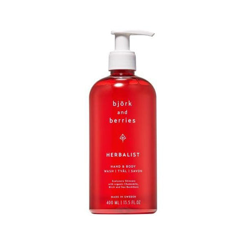 Bjork & Berries | Herbalist Hand & Body Wash - 400ml | A Little Find