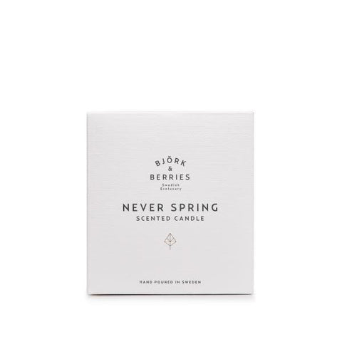 Bjork & Berries | Never Spring Scented Candle - 220g | A Little Find