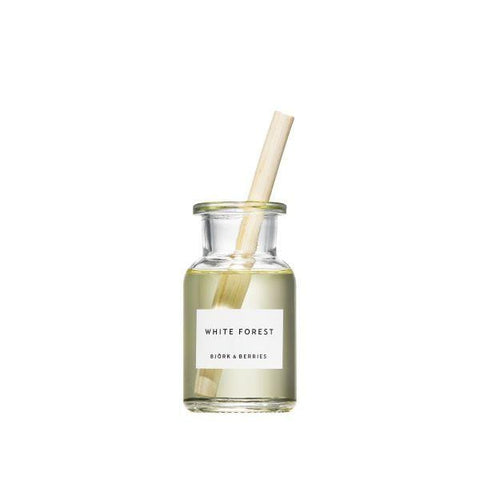 Bjork & Berries | White Forest Reed Diffuser - 100ml | A Little Find