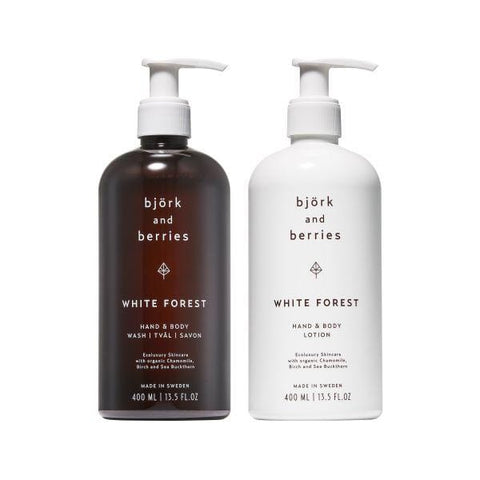 Bjork & Berries | White Forest Hand & Body Duo Gift Set |A Little Find