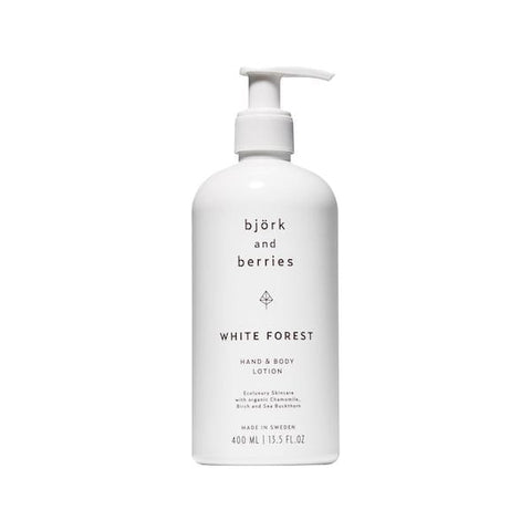 Bjork & Berries | White Forest Body Lotion - 400ml | A Little Find
