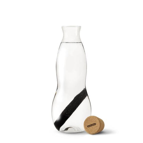 black and bloom eau carafe water bottle I a little find