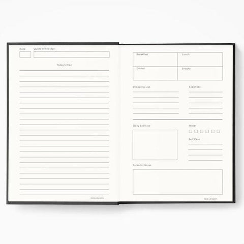 CGD London | Getting Stuff Done Planner - Black | A Little Find