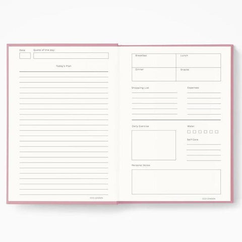 CGD London | Getting Stuff Done Planner - Pink | A Little Find