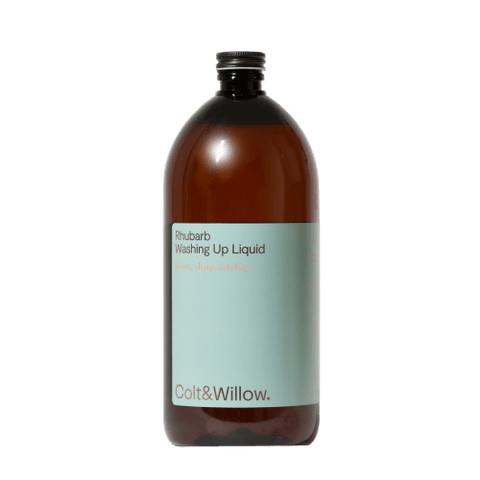 Colt & Willow | Rhubarb Washing Up Liquid Refill 1l | A LITTLE FIND