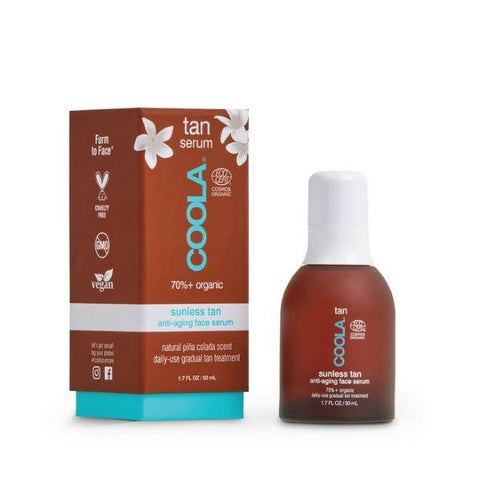 Coola | Sunless Tan Anti-Ageing Face Serum - 50ml | A Little Find