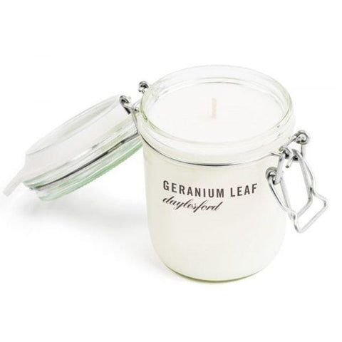 Daylesford | Botanical Geranium Leaf Candle - 370ml | A Little Find