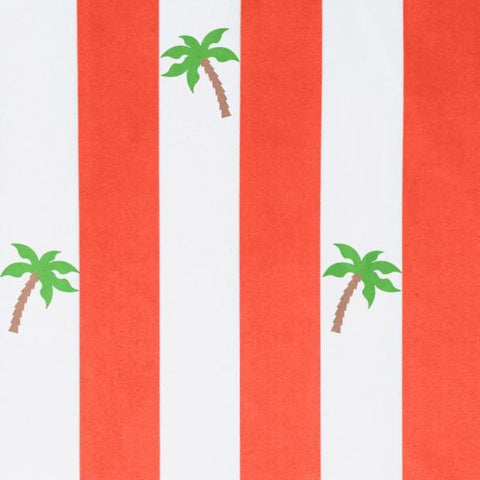 Dock & Bay | Mini Poncho Towel - Palm Red | A Little Find