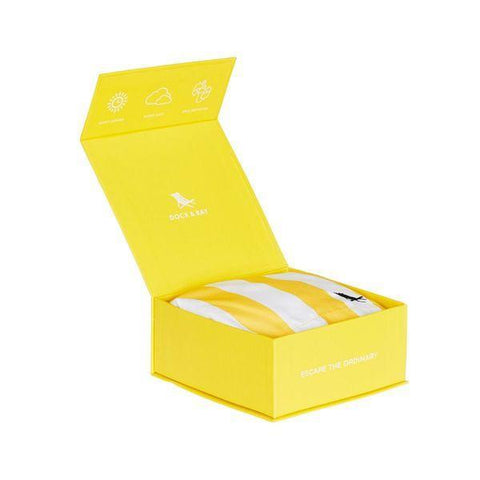 Dock & Bay | Quick Dry Swim Shorts - Cabana Boracay Yellow | A Little Find