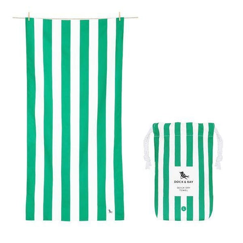 Towel - Cabana Cancun Green - Large