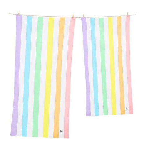 Dock & Bay | Towel - Summer Unicorn Waves - Large | A Little Find