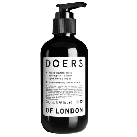 Doers Of London | Facial Cleanser - 200ml | A Little Find