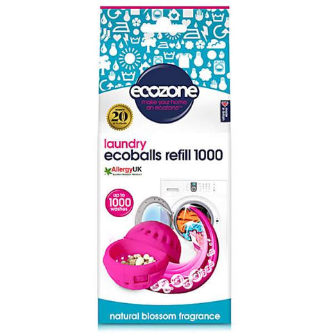 Ecozone | Ecoballs Refills - 1000 - Natural Blossom | A Little Find