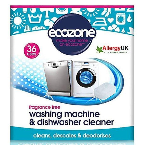 Ecozone | Washing Machine & Dishwasher Cleaner - 36  | A Little Find