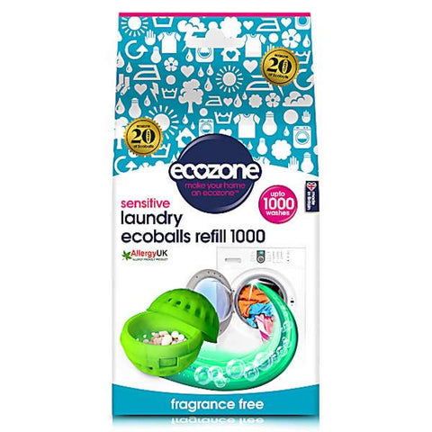 Ecozone | Ecoballs Refills - 1000 - Fragrance Free | A Little Find