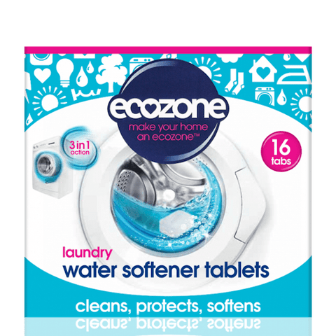Laundry Water Softener Tablets - 16 Tablets